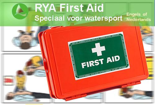 RYA, First Aid,   EHBO voor watersporters