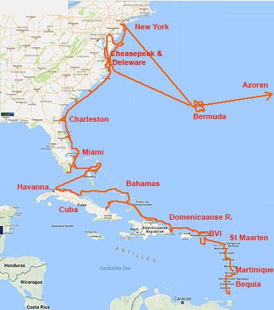 Caribische & Canarische zeilreizen